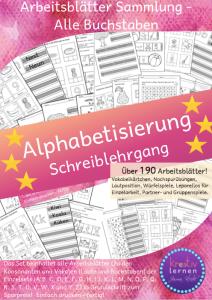 Alphabetisierung Schreiblehrgang Buchstaben lernen
