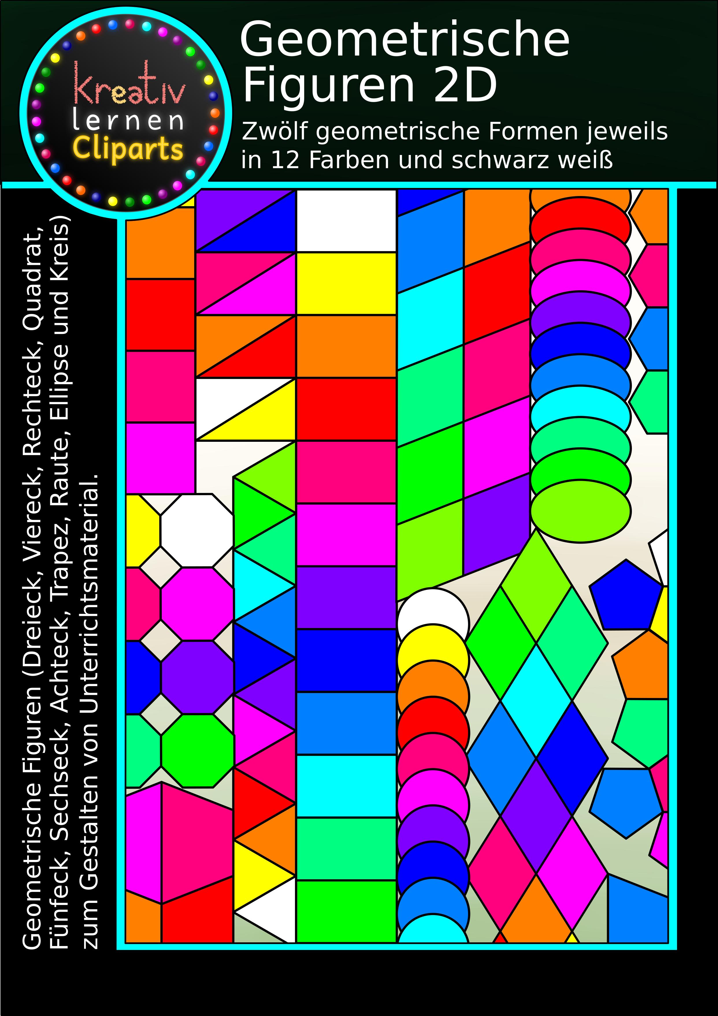 Geometrische Formen Bild Dateien Gratis Kreativ Lernen