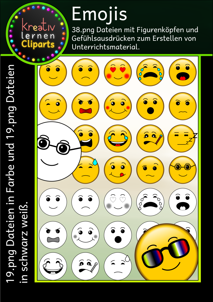 Emoji - Clipart