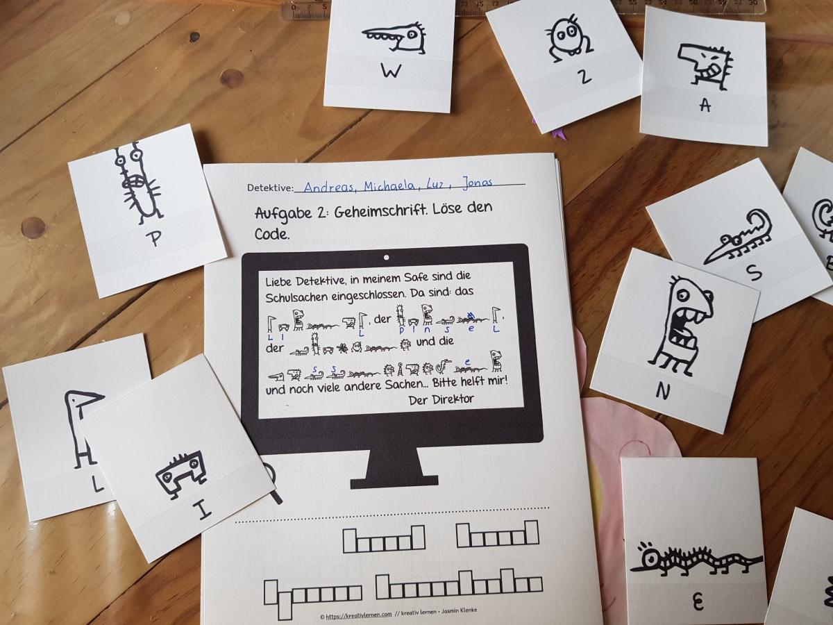 Klassendetektive: kooperatives Lernen, spielerisch und mit Neugier! Schon ab Klasse 1