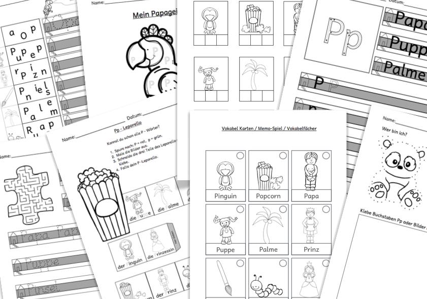 Buchstaben schreiben lernen +gratis Arbeitsblätter – Kreativ Lernen