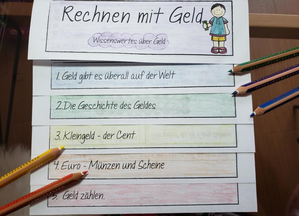 Wissenswerte Fakten zum Rechnen mit Geld in der Grundschule