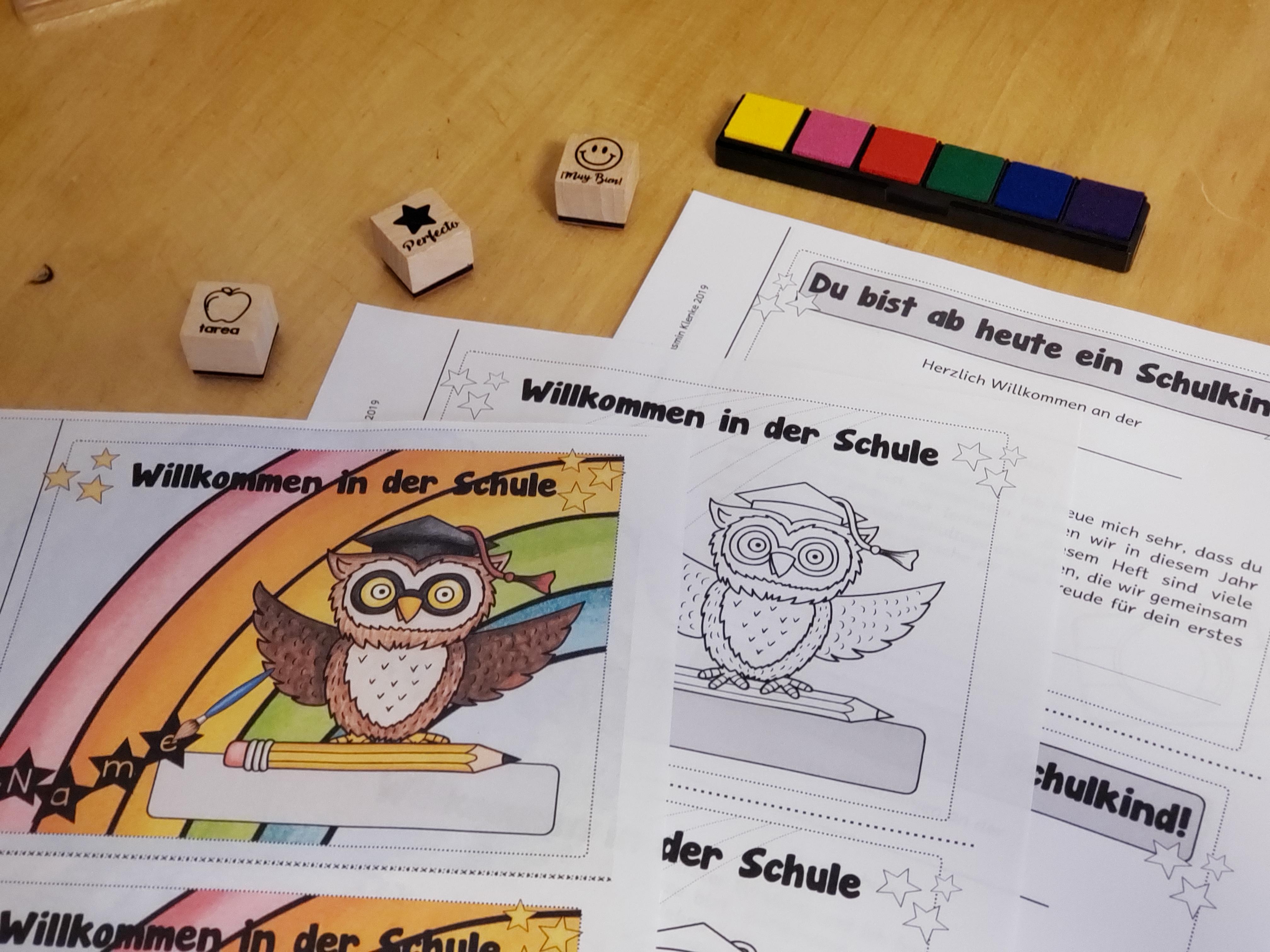 Damit sich deine Erstklässler von Anfang an in der Schule willkommen fühlen, starte mit ihnen mit dem Anfangsheft von kreativ lernen